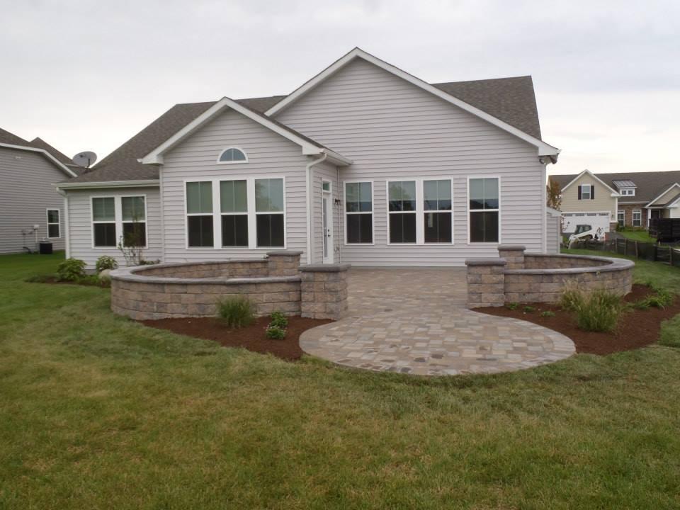 Backyard Patio Hardscape | JBP Landscape Contractors