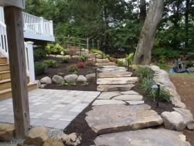 Backyard Hardscape | JBP Landscape Contractors