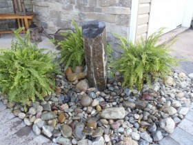 Rock Fountain Collegeville | JBP Landscape Contractors