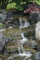 Close Up Waterfall JBP Landscape Contractors