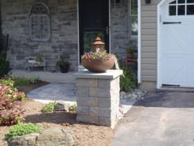 stone pillar | JBP Landscape Contractors