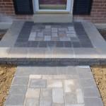 Front Step Pavers | JCP Landscape Contractors
